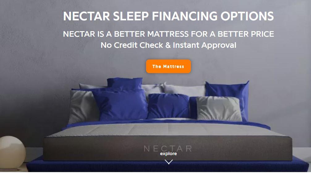 Nectar Sleep Financing