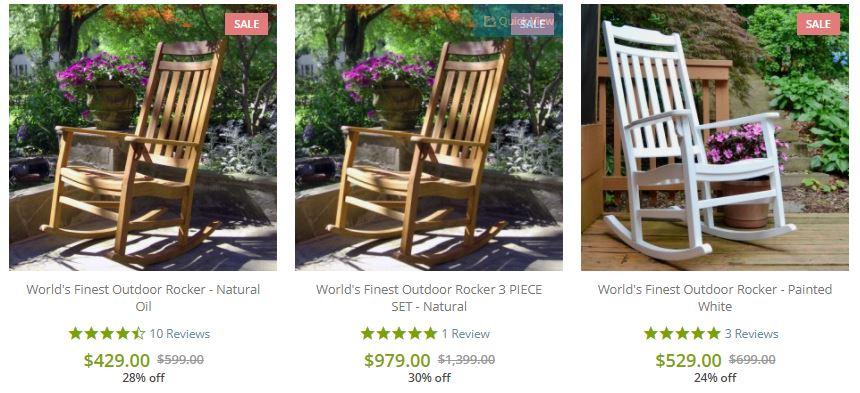 Frontera outdoor rocker chair sale