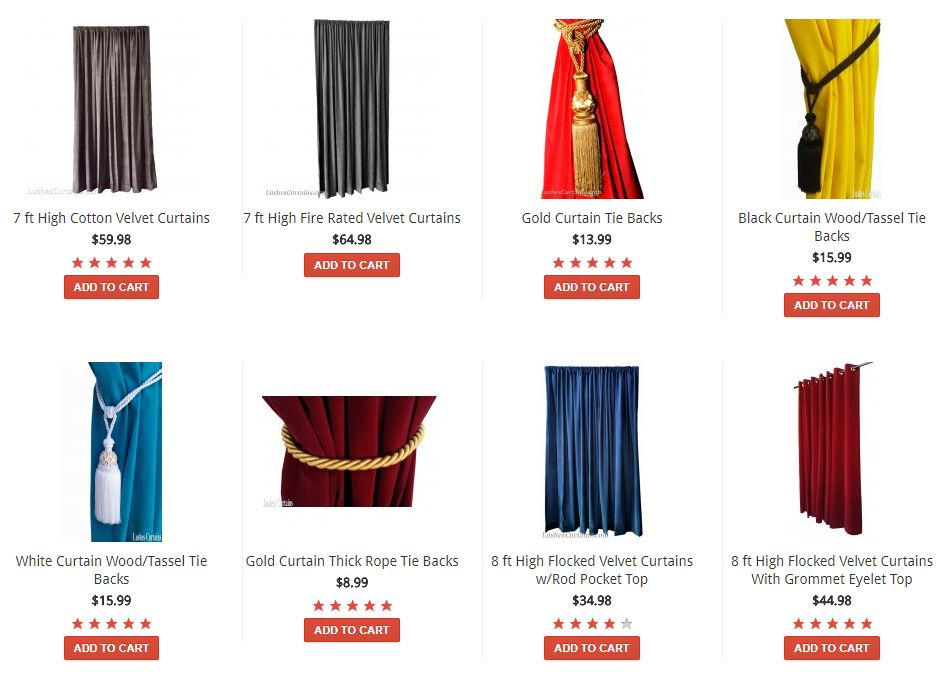 Lushes Curtains Reviews & Coupon Codes
