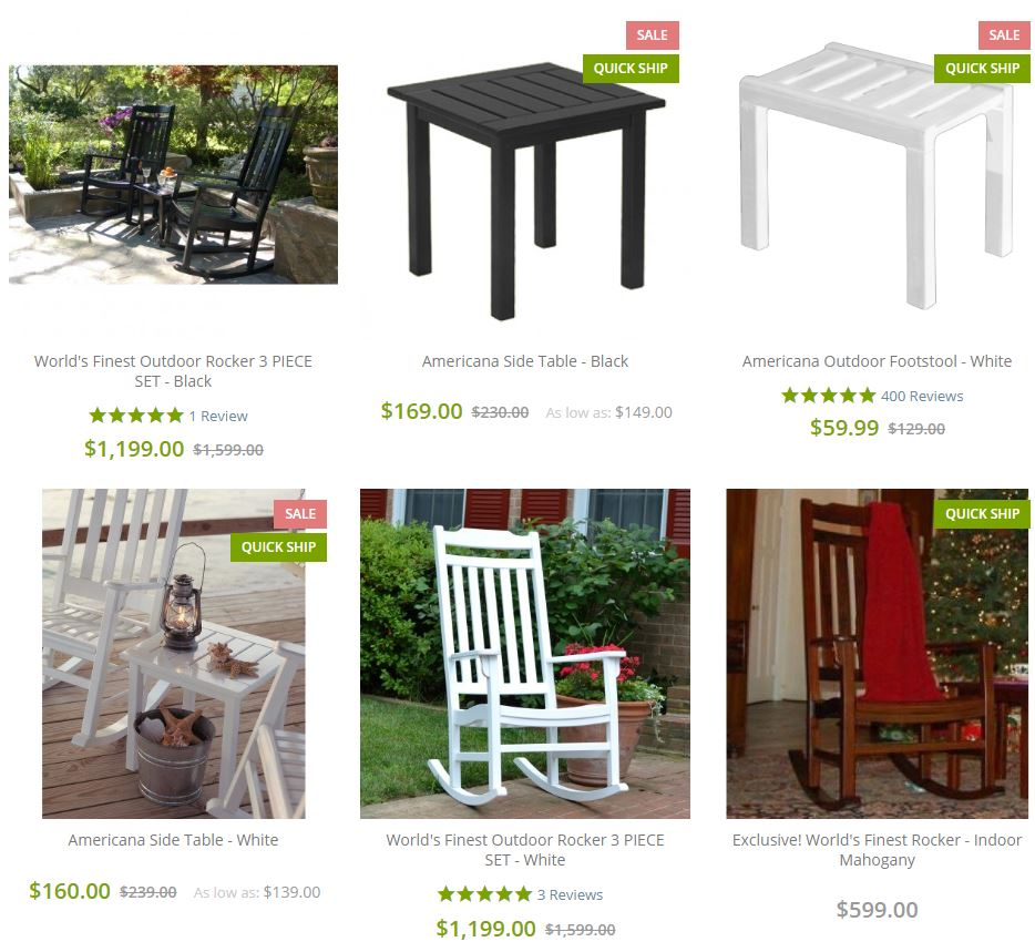 Best Outdoor Rocking Chairs - The World's Finest Outdoor Rocking