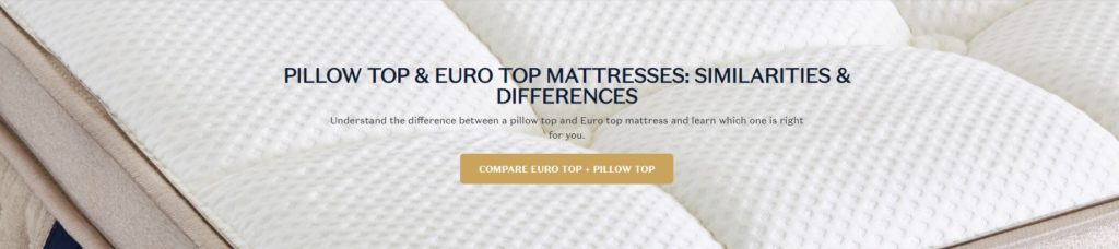 Pillow Top vs Euro Top