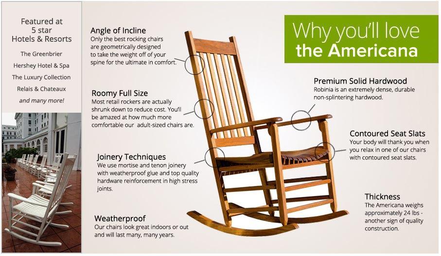 The Classic Americana Rocker Chairs